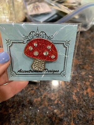 Mag Friends Accoutrement Designs MUSHROOM Needle Minder Buddy