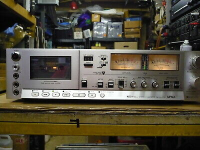 Aiwa AD-6700 Cassette Deck (Good Condition, Just Serviced)