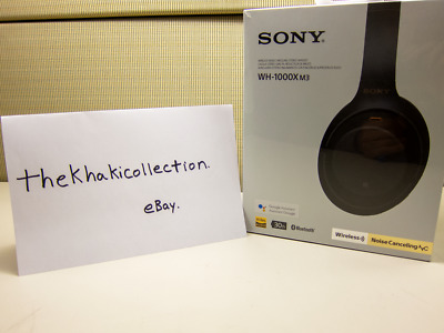 NEW SEALED Sony WH-1000XM3 Wireless Bluetooth Noise-Canceling Headphones