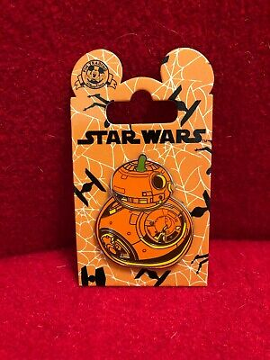 Walt Disney World Star Wars BB-8 Pumpkin Halloween Pin