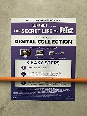 The Secret Life of Pets Digital Movie Canada Only