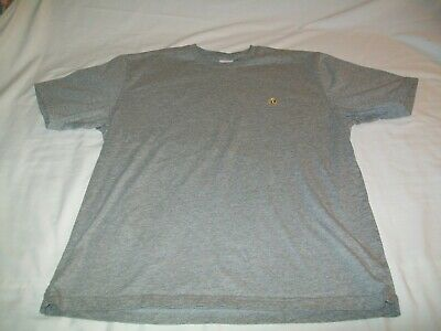 Brooks Brothers 1818 Short Sleeve Solid Gray 100% Cotton Casual T-Shirt - Men L