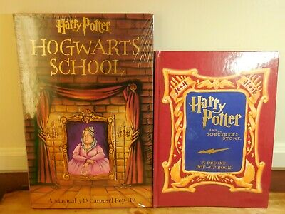 HARRY POTTER POP Up Book by Bruce Foster FIRST EDITION, RARE