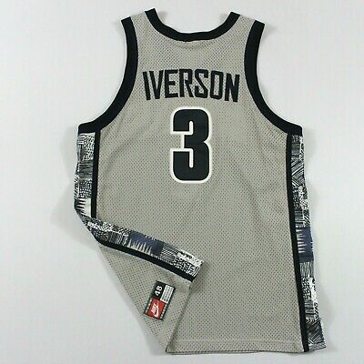 competitive price 942c8 104e5 AUTHENTIC ALLEN IVERSON 48 XL Nike Georgetown Hoyas Jersey Vintage Rare