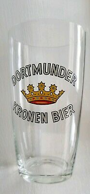 Dortmunder Kronen Bier Glass Beer Glass German Trinkin Drinking