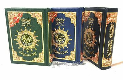 "Tajweed Quran Arabic Islam Color Coded Whole Quraan Hardcover 6"" (14*10CM)"