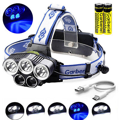 990000Lumens LED Zoomable Headlamp Rechargeable 18650 Headlight Head Lamp Torch
