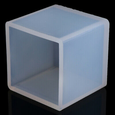 Silicone Pendant Mold Jewelry Making Cube Resin Casting Mould DIY Model Tool