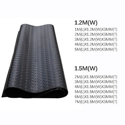 3Mmthickness Heavy Duty Large Rubber Commercial Quality Flooring Matting Gym Mat