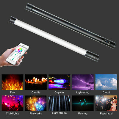 Yidoblo LT-RGB4 RGB Colorful Handheld Ice Stick LED Video Light Built-In Battery
