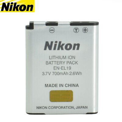 Genuine Original Nikon EN-EL19 Li-ion for Coolpix S2500 S3100 S4100 700mAh 2.6Wh