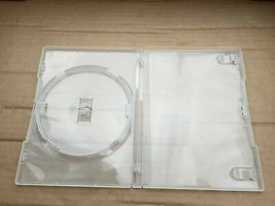 x10 Transparent DVD Cases Singles - Used, But In Excellent Condition