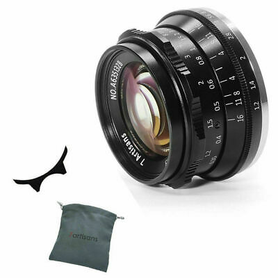 7artisans 35mm f/1.2 APS-C Manual Fixed Lens for M4/3 Mount Cameras