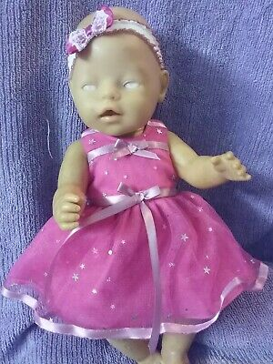 Handmade Clothes For 17inch Zaph baby born doll and Interactive Sister