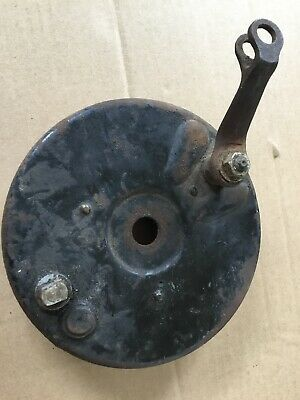 "Rear Brake Plate 7"" NOT SURE Possibly Norton Velocette Sunbeam Triumph Ariel ???"