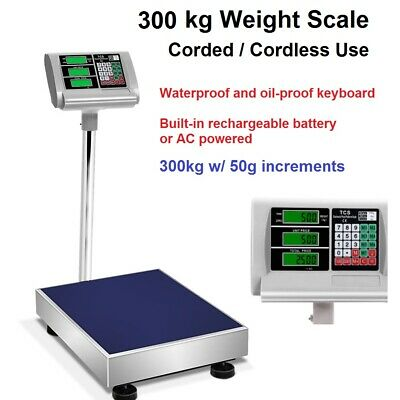 Scale 300kg Weight Parcel Warehouse Shipping Postage Commercial Packaging Scales