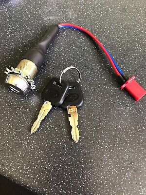 Mobility Scooter On Off Switch Key Ignition Shoprider, Sterling, TGA,