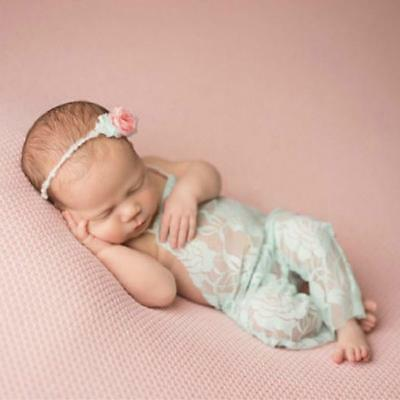 Cute Newborn Toddler Baby Girl Clothes Lace Floral Romper Bodysuit Outfits - FI