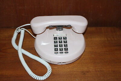 Vintage Northern Telecom Telephone Push Button made in Taiwan Cream Color