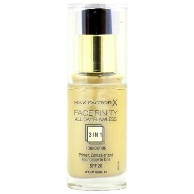 Max Factor Facefinity 3In1 All Day Flawless Foundation 30Ml Choose Your Shade