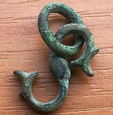 Ancient Viking Bronze Pendant Amulet Circa 700-900 AD Very Rare