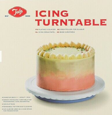 Icing Turntable Revolving Tala Baking Essentials NEW