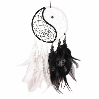 Gift Handmade Dream Catcher With Feathers Car Wall Hanging Decoration Ornament
