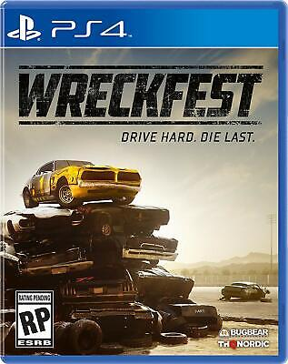 Wreckfest Playstation 4 PS4 Brand New Factory Sealed