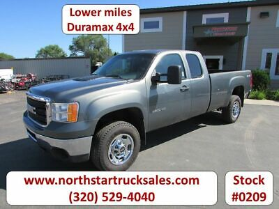 2011 GMC 2500HD Duramax 4x4 Pickup, Stealth Gray Metallic with 100762 Miles avai
