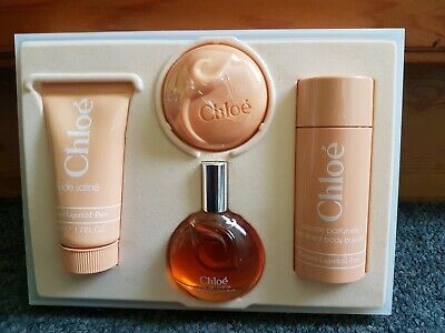 New Chloe Perfume Lagerfield Paris Toiletries Gift Set Rare