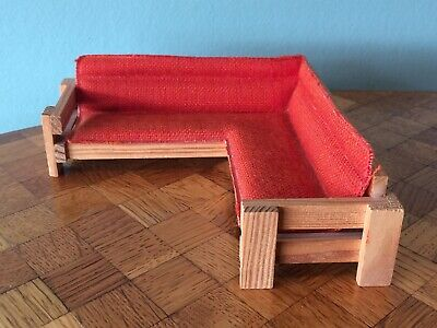 Sofa Lundby 1:18 Puppenstube Puppenhaus dollhouse couch