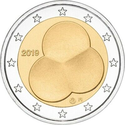 2 euro commemorative coin Finland 2019 - 100 years of the Constitution 1919-2019