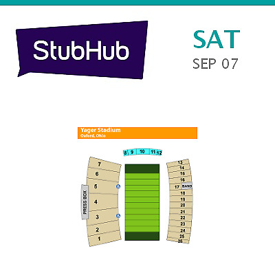 Tennessee Tech Golden Eagles at Miami (Ohio) Redhawks Football Tickets - Oxford