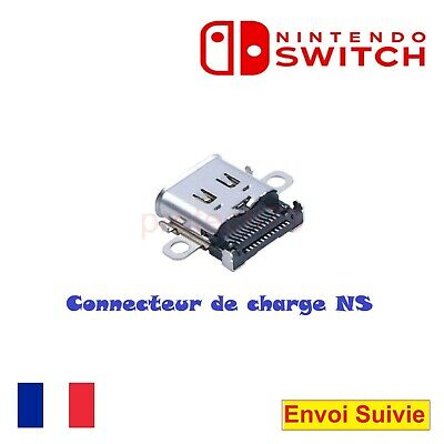 Connecteur de charge Nintendo Switch prise alimentation USB type-C port NS neuf