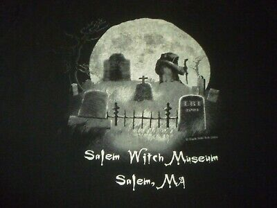 Salem Witch Museum Vintage Shirt ( Used Size L ) Very Good Condition!!!