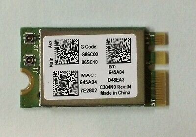 Genuine Broadcom 802.11b/g/n 2.4GHz WIFI Card BCM943142Y Toshiba G86C0006SC10