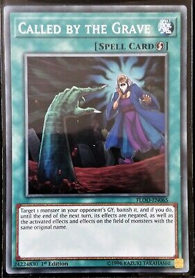Yu-Gi-Oh Called by the Grave FLOD-EN065 NM