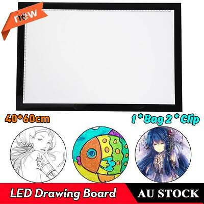 A2 LED Copy Light Box Tracing Drawing Board Art Design Pad Slim Lightbox USB