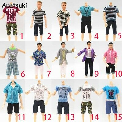 1SET 1/6 BJD  Boy Doll Casual  Summer Outfits for Barbie 1/6 BJD Ken Doll