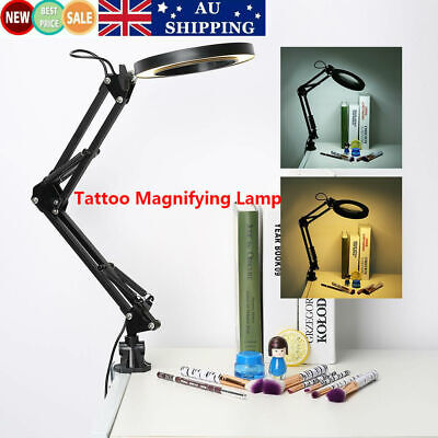 Magnifying Lamp Light Skincare Beauty Manicure Tattoo Salon Spa Floor Stand Lamp