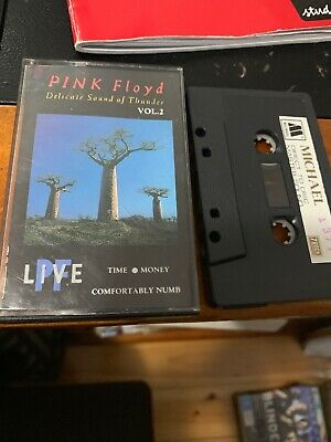 PINK FLOYD DELICATE SOUND OF THUNDER VOL 2 Michael 1379 Cassette Tape