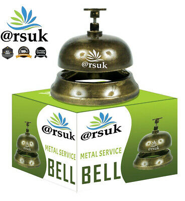 Service Bell For Counter Reception Concierge Kitchen Hotel Restaurant Food Call