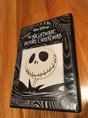 The Nightmare Before Christmas Dvd Disney Collector's Edition