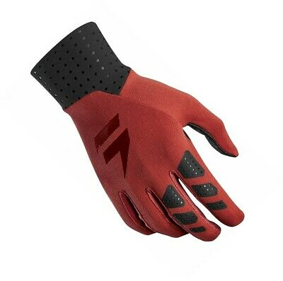 Shift MX 3LUE Label Air Motocross Off Road Race Gloves Mars Red Adults