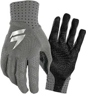 Shift MX 3LUE Label Ghost Motocross Off Road Race Gloves Grey Adults