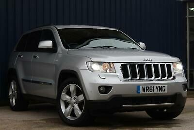 Jeep Grand Cherokee 3.0 Crd Overland 4X4 Automatic 11/61 Only 49,000 Miles