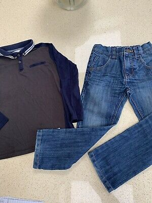 Boys Next Jeans & River Island Top Outfit Age 5 Years