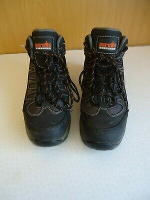 Scruffs Steel Toed Work Boots   Uk 8   Used In Vgc