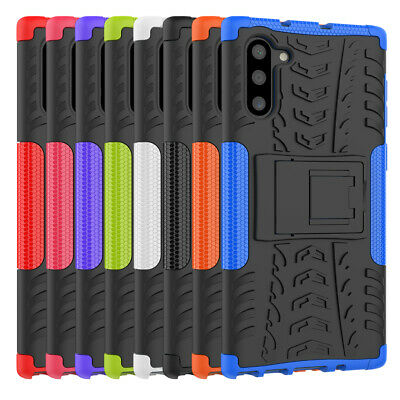 Rugged Hybrid Armor Shockproof Hard Case Stand Cover For Samsung Galaxy Note 10