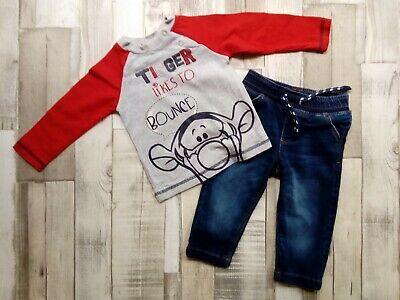 9 Months EX High Street Baby Boys Little Sailor Long Sleeve Top NB